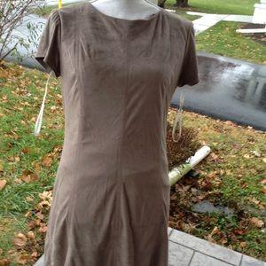 Jessica Simpson suede dress.